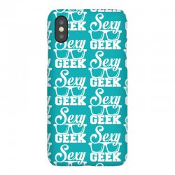 Like a i love cool sexy geek nerd glasses boss iPhoneX Case | Artistshot