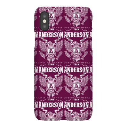 Team Anderson Lifetime Member Iphonex Case Designed By Davidph