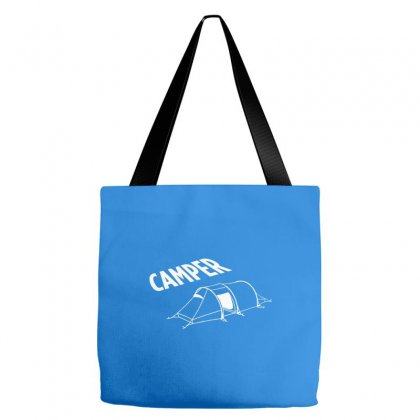 Camper Camping Fun Zelten Zelt Hobby Freizeit Outdoor Pc Gaming Tote Bags Designed By Cuser388