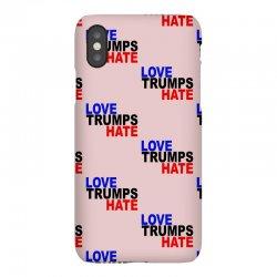 love trumps hate vote for hillary iPhoneX Case | Artistshot