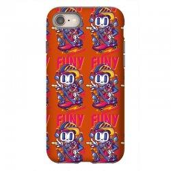 funny skate iPhone 8 Case | Artistshot