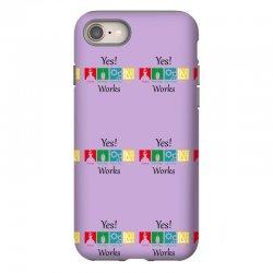yes work science iPhone 8 Case | Artistshot