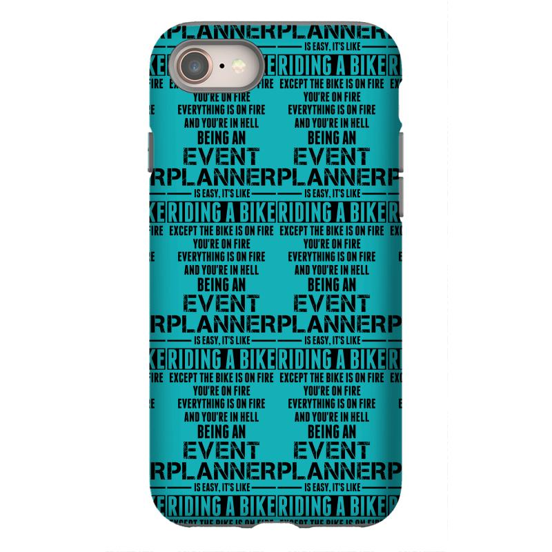 Being An Event Planner Like The Bike Is On Fire Iphone 8 Case | Artistshot