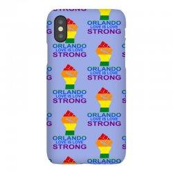 Love Is Love, Orlando Strong iPhoneX Case | Artistshot