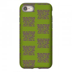 Funny ADHD quote iPhone 8 Case | Artistshot