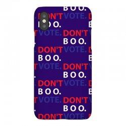 Dont Boo. Vote. iPhoneX Case | Artistshot