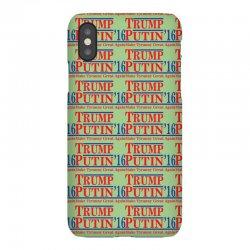 trump putin 2016 iPhoneX Case   Artistshot