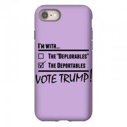 Donald Trump Deportables iPhone 8 Case | Artistshot