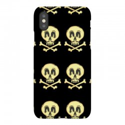funny skull mustache iPhoneX Case | Artistshot