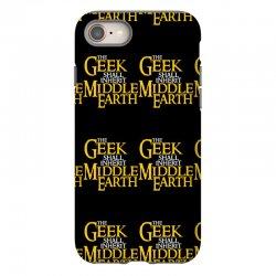 geek shall inherit middle earth iPhone 8   Artistshot