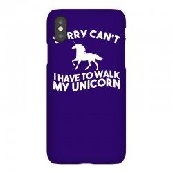unicorn, television, funny, geek, humour, parody, retro iPhoneX Case | Artistshot