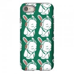 love music cartoon bunny iPhone 8 Case | Artistshot