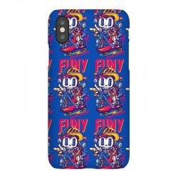 funny skate iPhoneX Case | Artistshot