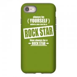 funny rock star iPhone 8 Case | Artistshot