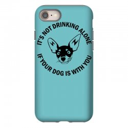 funny drinking dog iPhone 8 Case | Artistshot