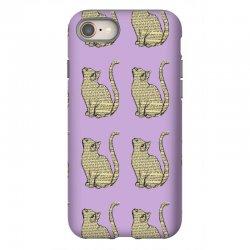 cats text iPhone 8 Case | Artistshot