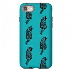 cats black iPhone 8 Case | Artistshot