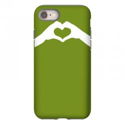 love hands iPhone 8 Case   Artistshot