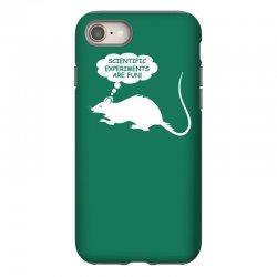 rat funny geek nerd scientific experiments are fun iPhone 8 Case | Artistshot