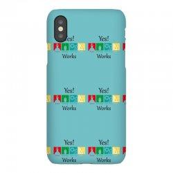 yes work science iPhoneX Case | Artistshot