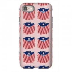USA Flag Vector iPhone 8 Case | Artistshot