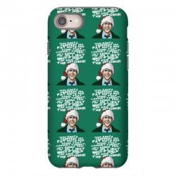 Clark Griswold Christmas Tee iPhone 8 Case | Artistshot