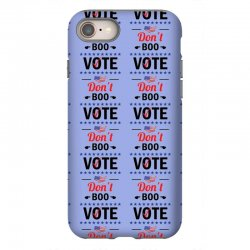 Don't Boo Vote 01 iPhone 8 Case | Artistshot