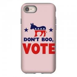 Don't Boo Vote 02 iPhone 8 Case | Artistshot