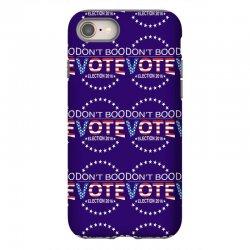 Don't Boo Vote 2016 iPhone 8 | Artistshot