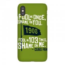 funny chicago cubs iPhoneX Case | Artistshot