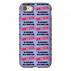 Don't Steal Government Hates Competition iPhone 8 Case | Artistshot