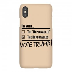 Donald Trump Deportables iPhoneX Case | Artistshot