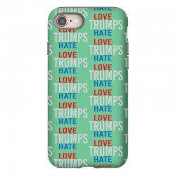 LOVE TRUMPS HATE iPhone 8 Case | Artistshot