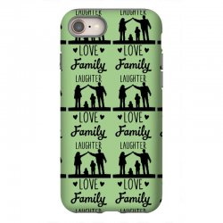 love family laughter iPhone 8 Case | Artistshot