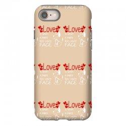 love is when a puppy iPhone 8 Case | Artistshot