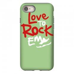 love to rock em iPhone 8 Case | Artistshot