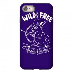 wild and free iPhone 8 Case | Artistshot