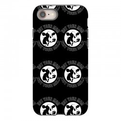 funny cow iPhone 8 Case | Artistshot