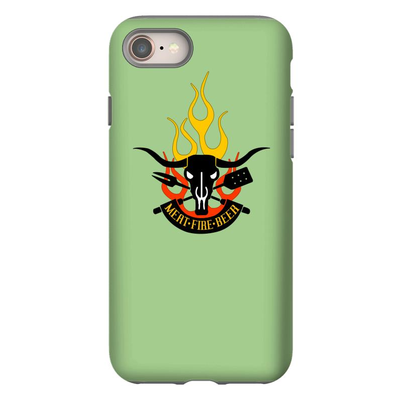 3d60ce01e Custom Meat Fire Beer Father's Day Iphone 8 Case By Yudyud - Artistshot
