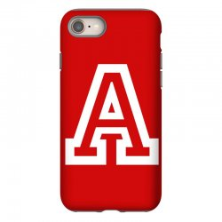 A Initial Name iPhone 8 Case | Artistshot