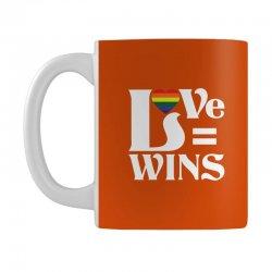 Love Wins Mug   Artistshot
