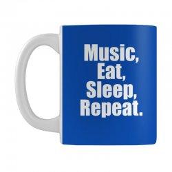 Music Eat Sleep Repeat Mug | Artistshot