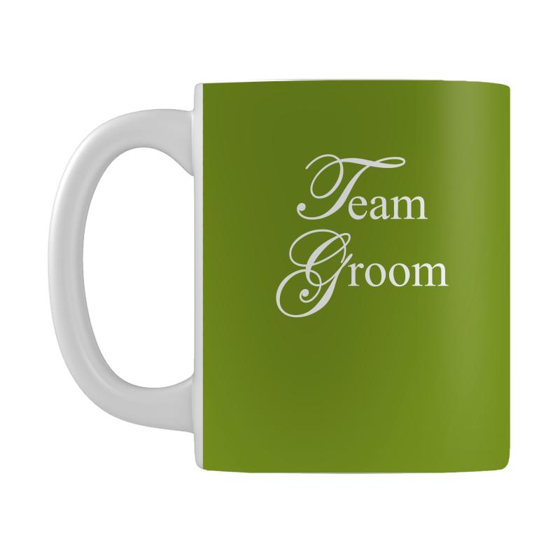 4602387e8468c Team Groom Mug. By Artistshot