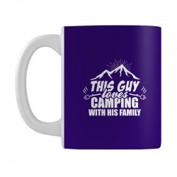 This Guy Loves Camping With His Family Mug | Artistshot