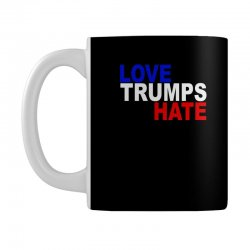 love trumps hate vote for hillary Mug | Artistshot