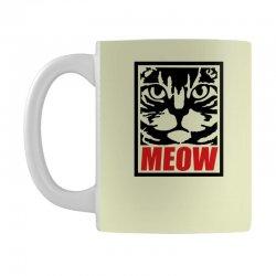 funny cat meow Mug   Artistshot