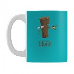 funny morning wood Mug | Artistshot