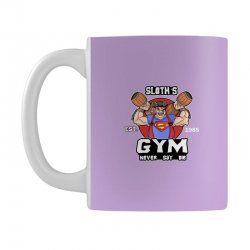 funny gym sloth the goonies fitness t shirt vectorized Mug | Artistshot