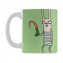 funny rabbit bunny holding a carrot Mug | Artistshot