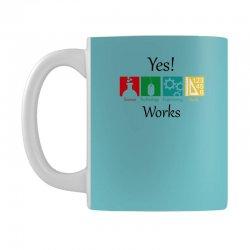 yes work science Mug | Artistshot
